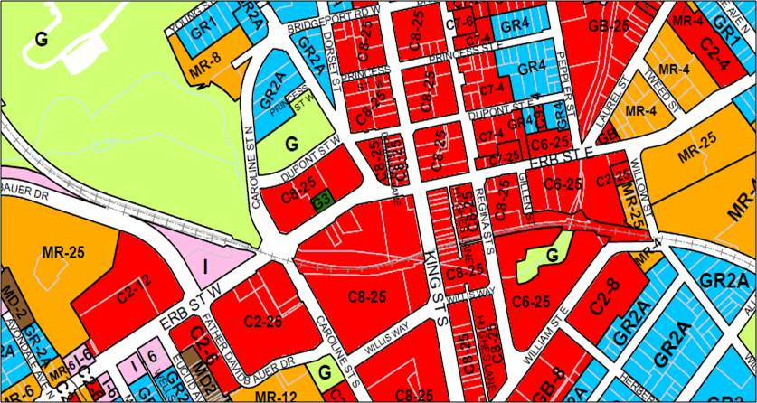 City of Waterloo Zoning Map